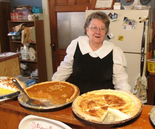 White potato custard pie