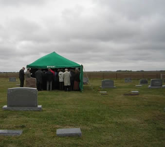Mennonite Cemetery - burial