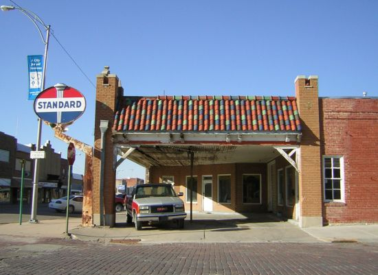 Smith Center - old gas station