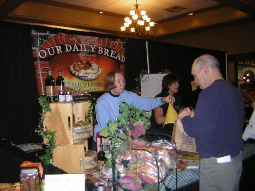 Vendor booth - Our Daily Bread from Barnes