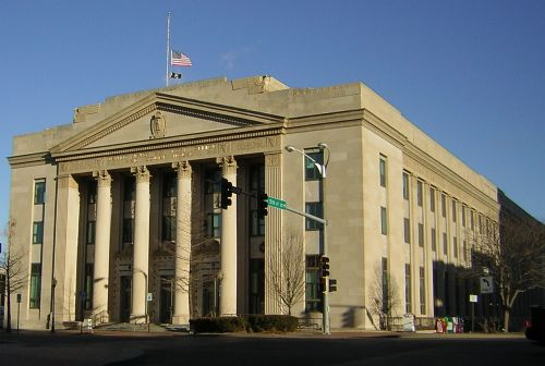 Post Office and Federal Courthouse - Topeka
