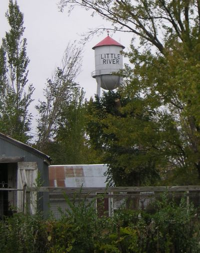Little River water tower